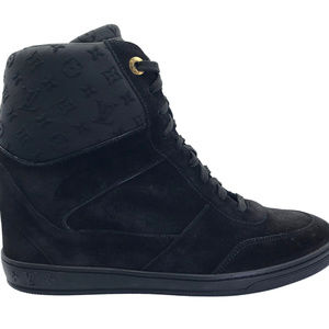 New Louis Vuitton Women's Millenium Wedge Sneakers